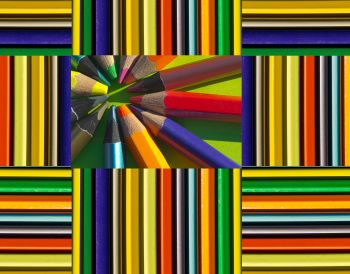 Kaleidoscopic pencils,